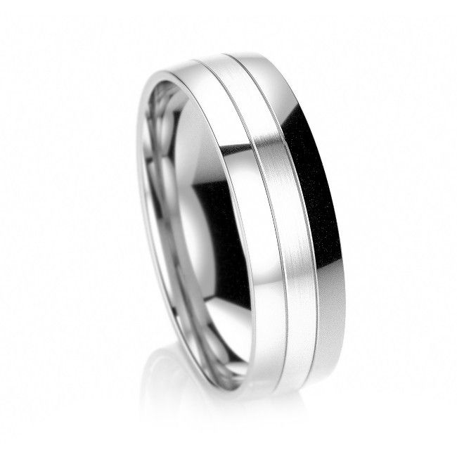Breed Half Afwerking RIng