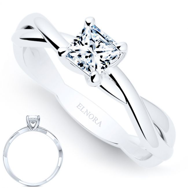 Sentiment Collectie - Forever Ring - Princess